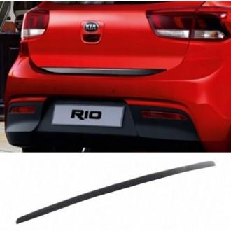 TOYOTA Verso, IQ, Aygo, RAV4 - BLACK Rear Strip Trunk...