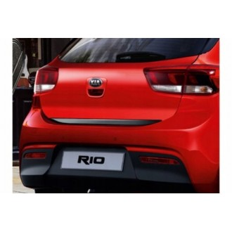FIAT Grande Punto, Bravo 2 - BLACK Rear Strip Trunk Tuning Lid 3M Boot