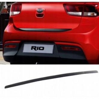 FIAT Grande Punto, Bravo 2 - BLACK Rear Strip Trunk...