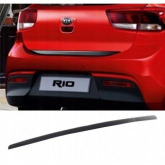 FORD Focus, Fiesta, KA - BLACK Rear Strip Trunk Tuning...