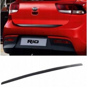 Alfa Romeo, Fiat - BLACK Rear Strip Trunk Tuning Lid 3M Boot