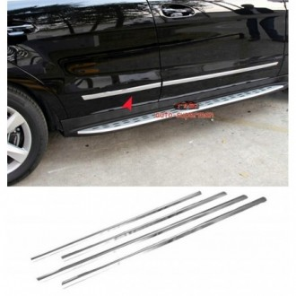 Toyota PRIUS II - Chrome side door trim