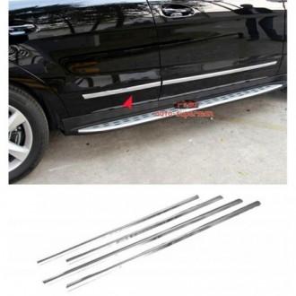 Nissan NAVARA - Chrome side door trim