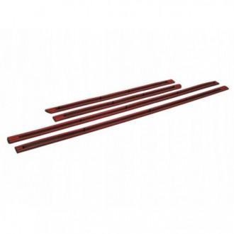 Nissan Micra 3d 03 - Schwarz Zierleisten Türleisten