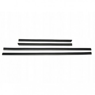 VW Transporter T5 Long - Black side door trim