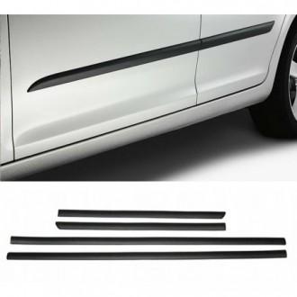 Toyota Yaris II 3d - Black side door trim
