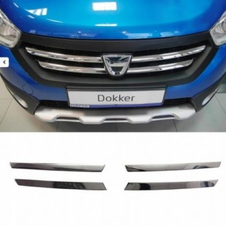 Dacia Lodgy - Chrome Grille Kit 3M Tuning