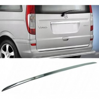 Mercedes VITO VIANO W639 - CHROME Rear Strip Trunk Tuning...