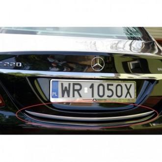 Mercedes C Klasa W205 - CHROME Rear Strip Trunk Tuning...