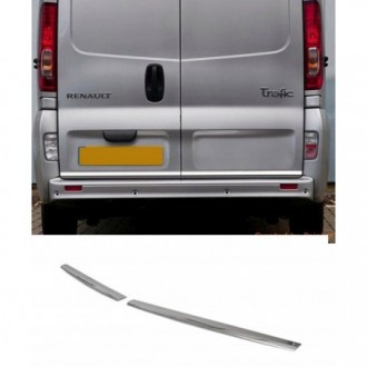 Renault TRAFIC - CHROME Rear Strip Trunk Tuning Lid 3M Boot