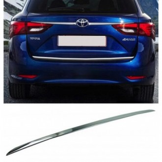 Toyota AVENSIS T27 T28 - CHROME Rear Strip Trunk Tuning...