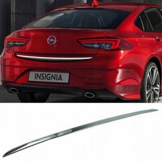Opel Insignia B, HB - CHROME Rear Strip Trunk Tuning Lid...