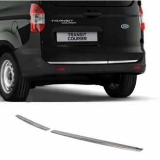Ford Transit Courier - CHROME Rear Strip Trunk Tuning Lid...