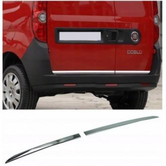 Fiat DOBLO Cargo - CHROME Rear Strip Trunk Tuning Lid 3M...