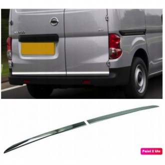 Nissan NV200 2010 - CHROME Rear Strip Trunk Tuning Lid 3M...