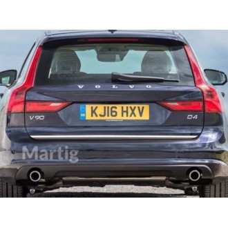 Renault MEGANE IV Sedan - CHROME Rear Strip Trunk Tuning Lid 3M Boot