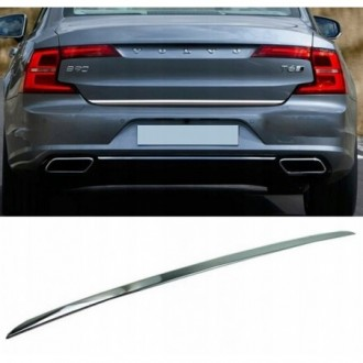 VOLVO S90 2016 - CHROME Rear Strip Trunk Tuning Lid 3M Boot