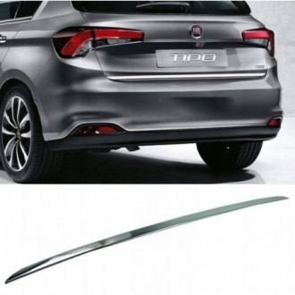 Fiat Tipo Hatchback - CHROME Rear Strip Trunk Tuning Lid...
