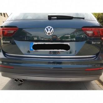 VW TIGUAN II AD1 2016 - CHROME Rear Strip Trunk Tuning...