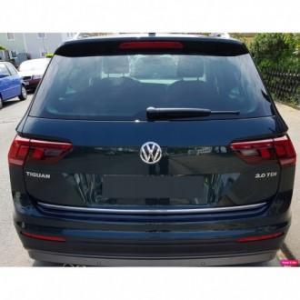 VW Golf Sportsvan - Chrom-Zierleiste Heckleiste 3M Tuning Chromleiste Heckklappe
