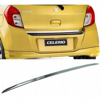 Suzuki CELERIO - CHROME Rear Strip Trunk Tuning Lid 3M Boot