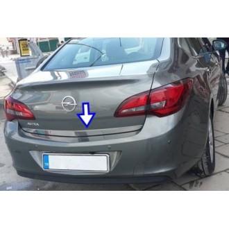Opel ASTRA J Sedan - CHROME Rear Strip Trunk Tuning Lid...