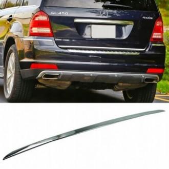 Mercedes-Benz GL X164 06-12 - CHROME Rear Strip Trunk...