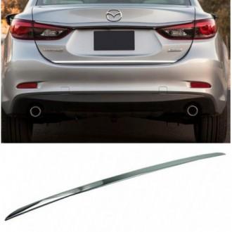Mazda 6 III Sedan GJ - CHROME Rear Strip Trunk Tuning Lid...