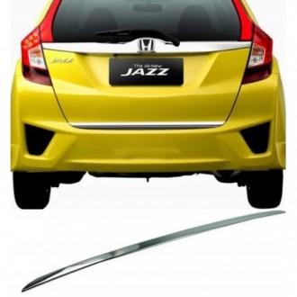 Honda JAZZ IV 13 - CHROME Rear Strip Trunk Tuning Lid 3M...
