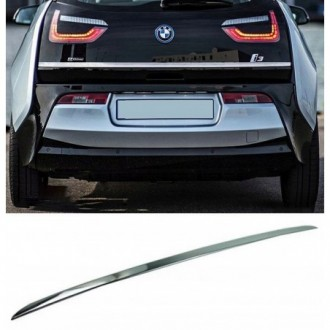 BMW 5 G30 Sedan - CHROME Rear Strip Trunk Tuning Lid 3M Boot