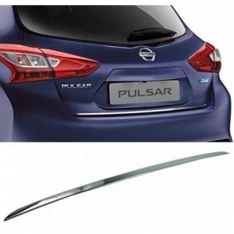 Nissan PULSAR - CHROME Rear Strip Trunk Tuning Lid 3M Boot