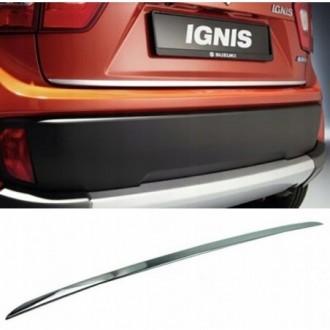SUZUKI IGNIS - CHROME Rear Strip Trunk Tuning Lid 3M Boot