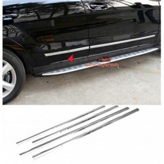 Hyundai TUCSON - Chrome side door trim
