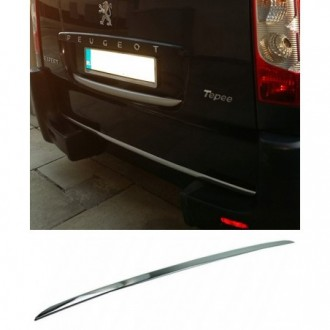 Peugeot EXPERT Tepee - CHROME Rear Strip Trunk Tuning Lid...