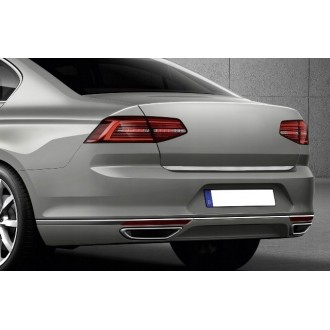 Audi A5 Sportback 5d 2009 - CHROME Rear Strip Trunk Tuning Lid 3M Boot
