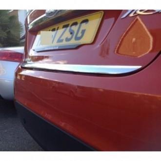 Nissan TIIDA 07 - Chrom-Zierleiste Heckleiste 3M Tuning Chromleiste Heckklappe