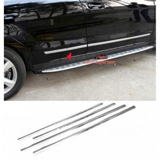 Nissan Tiida - Chrome side door trim