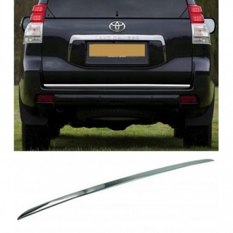 Toyota Land Cruiser J50 J150 09 - CHROME Rear Strip Trunk...
