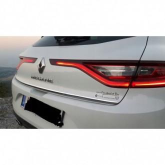 Renault MEGANE MK IV HB - CHROME Rear Strip Trunk Tuning...