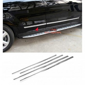 Subaru FORESTER III 08 - Chrome side door trim