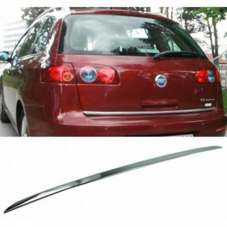 FIAT CROMA - CHROME Rear Strip Trunk Tuning Lid 3M Boot