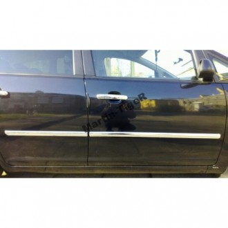 VOLVO S80 II - CHROME Rear Strip Trunk Tuning Lid 3M Boot