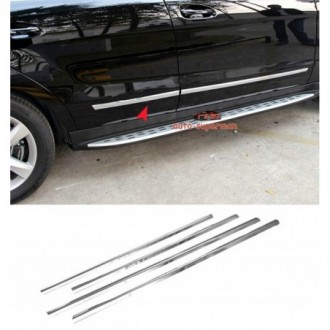 Fiat Panda II - Chrome side door trim