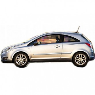 Hyundai i40 CW VF - Chrom-Zierleiste Heckleiste 3M Tuning Chromleiste Heckklappe