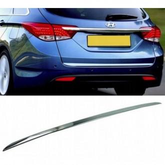 Hyundai i40 CW VF - CHROME Rear Strip Trunk Tuning Lid 3M...