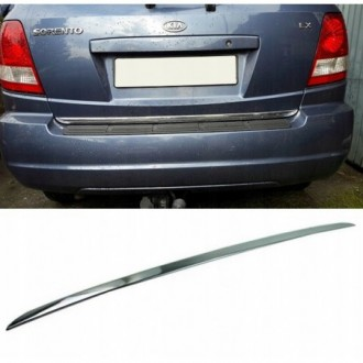 KIA SORENTO I 02-09 - CHROME Rear Strip Trunk Tuning Lid...
