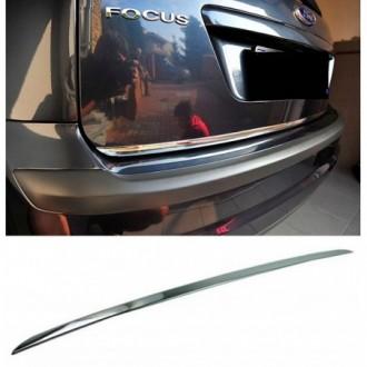 FORD FOCUS MK II HB - CHROME Rear Strip Trunk Tuning Lid...