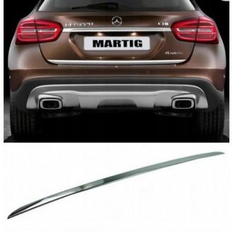 Mercedes GLA X156 - CHROME Rear Strip Trunk Tuning Lid 3M...