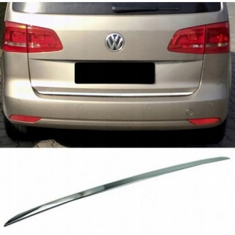 VW TOURAN II 1T3 10 - CHROME Rear Strip Trunk Tuning Lid...