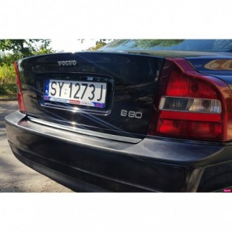 VOLVO S80 I - CHROME Rear Strip Trunk Tuning Lid 3M Boot